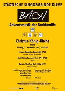 Plakat 2010 Bach